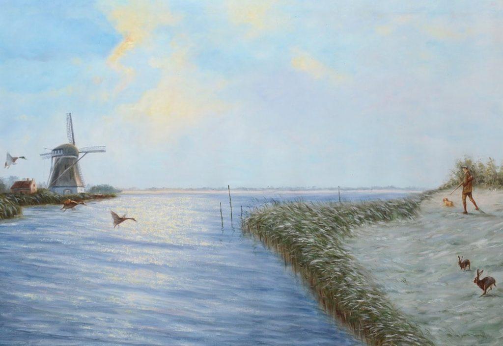 Landschapschilderij feature image 01